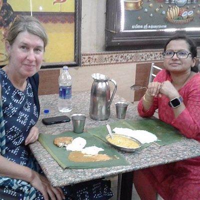 Deepa with Alison !