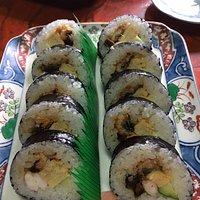 上巻き寿司です。
