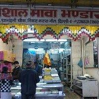 Vishal Mawa Bhandar at Chandni Chowk, Delhi