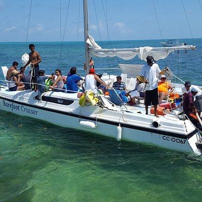Our Barefoot Crusier Catamaran!!