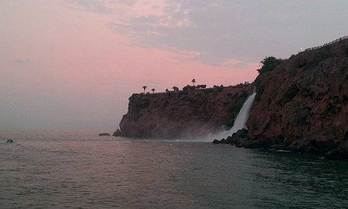 Antalya private boat tours to duden waterfalls | Antalya özel tekne turları ile düden şelalesi t