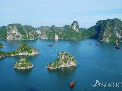 Baie d'Halong merveilleuse