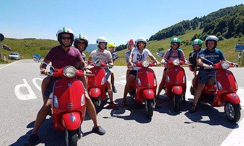 Rollertour Juli 2017 (nähe Ferrara di Monte Baldo)