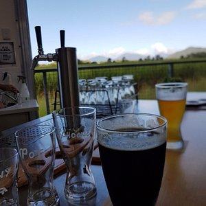 Light and dark at the bar