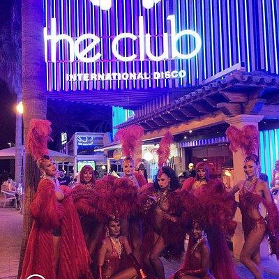 Fachada The Club exteriores
