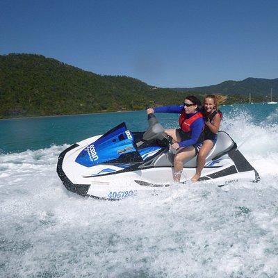Adrenalin packed jet ski adventure