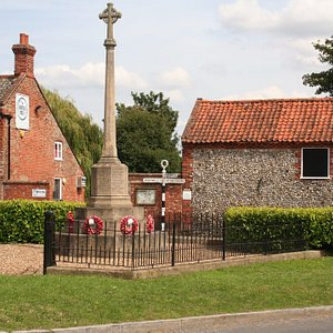 Little Walsingham Cross