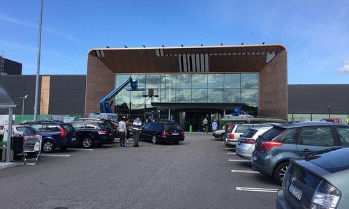 Southern entrance to Eurostop