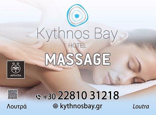 Kythnos Bay Hotel Massage