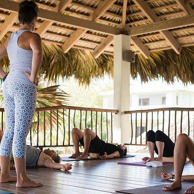 Yoga Practice in the Yoga Loft