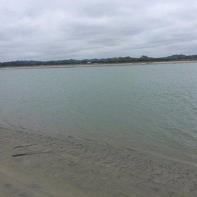 Playa tranquila y con poco oleaje
