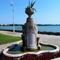 The memorial fountain