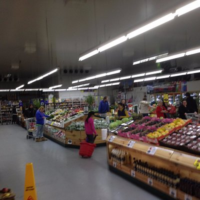 Inside Arnold's Fruit Shop