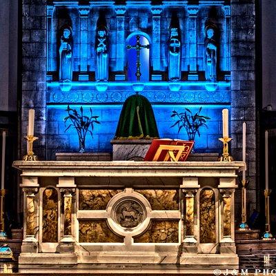 Main Altar, St Margaret's Memorial Church, Dunfermline