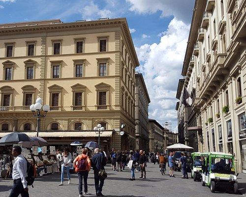 Via Roma, viewed from Piazza della Repubblica.