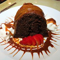 Chocolate Banana Rum cake | The Rose Table