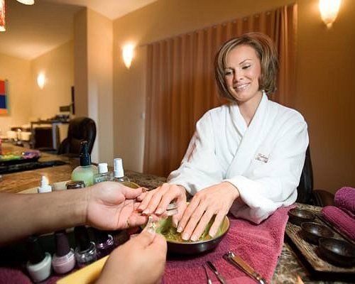Nail treatments of all types available in our salon.
