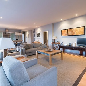 Shared Living and dining area