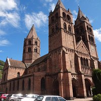 Eglise St Léger Guebwiller (vue extérieure)