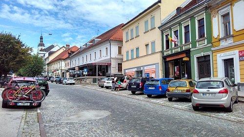 Main square in Novo mesto