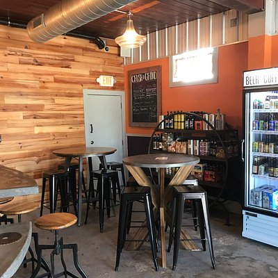 From hand crafted cold brew to hot coffee, craft beer and wine- come and relax.