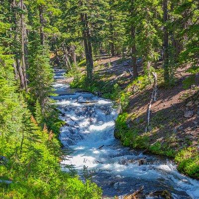 Cascades on Falls Creek