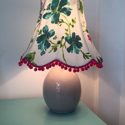 Traditional lampshade workshop