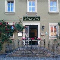 Eingang Gasthaus