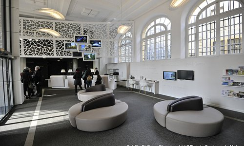 L'espace d'accueil de l'Office de Tourisme de Metz