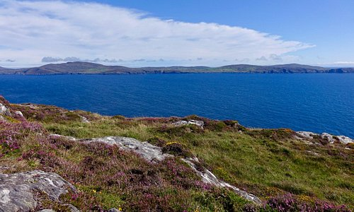 One of many beautiful scenes along the way, this one looking north at Bantry Bay.