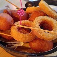 Canteen Sepeti ; Corn Dog, Peynir Topu, Soğan Halkası,Nugget ve kızarmış patates