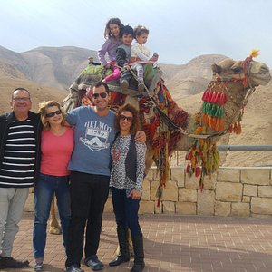 on the way to the Dead Sea - the lowest place in the world, Israel