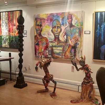 """Creatively We Unite""  Black History Month exhibition at Zenith Gallery"