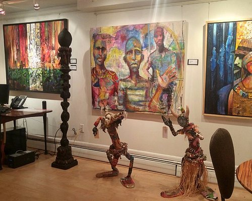 """""""Creatively We Unite""""  Black History Month exhibition at Zenith Gallery"""