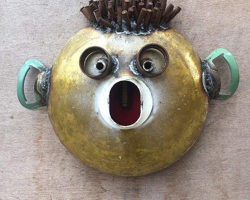 Goncalo Mabunda's Mask just too cool