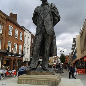Statue of the great Composer