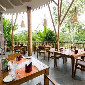 Aruna Restaurant at the Tejaprana Resort & Spa