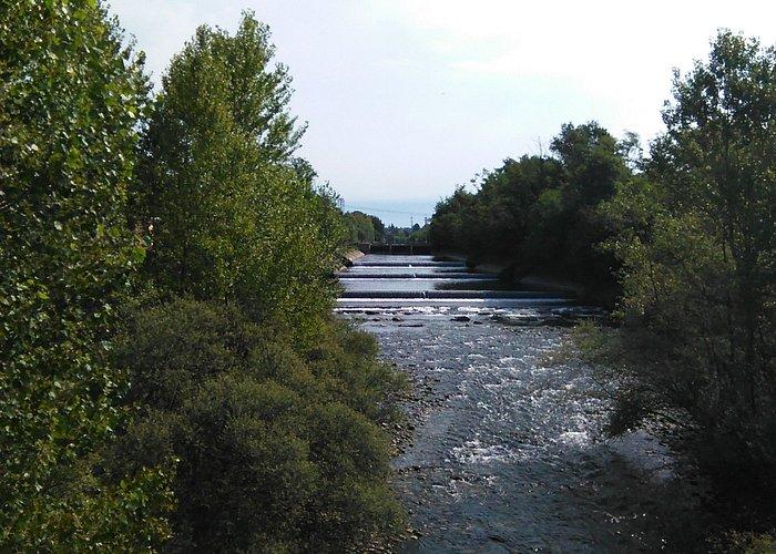 vista dal centro ponte