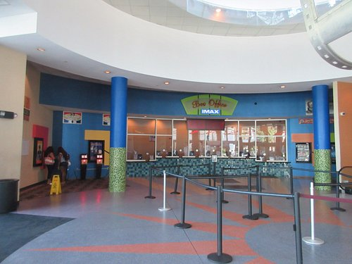 The main entrance and ticket counters