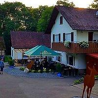 Ausflugslokal Schellenhof, Freisitz und Vorplatz