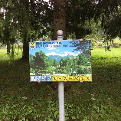 حديقة Alpen Kurpark Bad Hofgastein