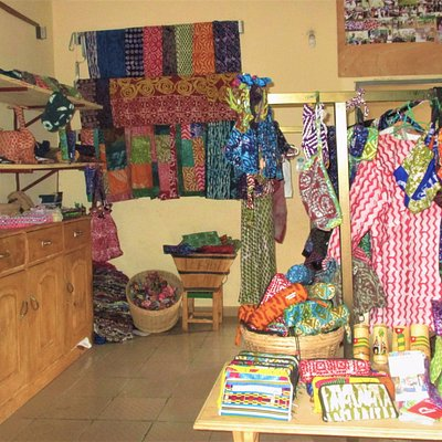 Here you can see a part of the lovely Boutique