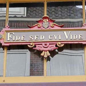 Fide sed cvi Vide = Trust, but you see who you trust on