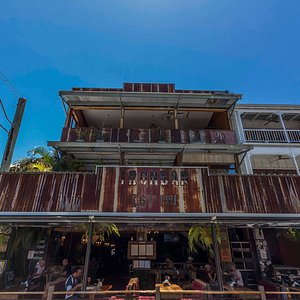 Welcome to the IronBar, Port Douglas.  Steakhouse Restaurant, Bar, Venue, Cane Toad Races, Gamin