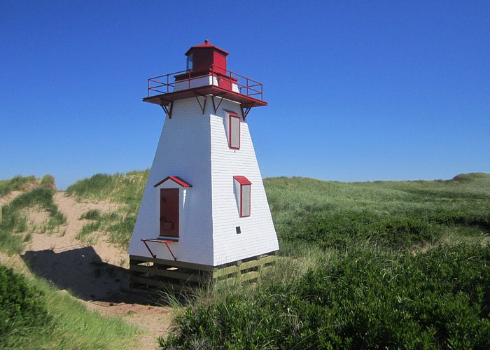 St Peters Harbour Lighthouse - well preserved