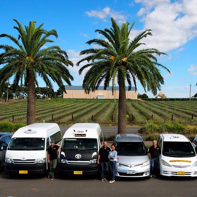 Our Fleet of Vehicles and our Friendly Local Drivers