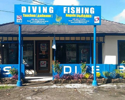 YOS Dive Bali's home base in Nusa Dua, Bali, Indonesia
