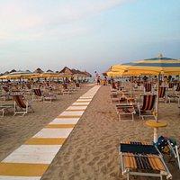 Spiaggia pulita,ambiente più che familiare