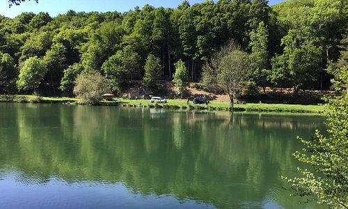 Photo de l'étang du Moulin de Boizard à Pontgouin