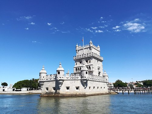Torre de Belém. Património Mundial pela UNESCO, é um dos monumentos mais expressivos de Lisboa.